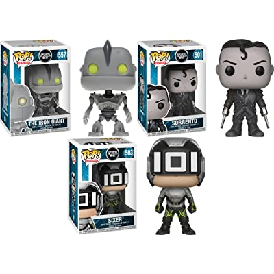 Funko POP! Ready Player One: The Iron Giant + Sorrento + Sixer – Stylized Vinyl Figure Bundle Set NEW