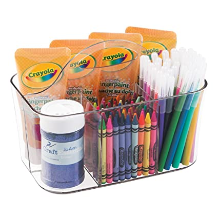 amazon com mdesign art supplies crafts crayons and sewing