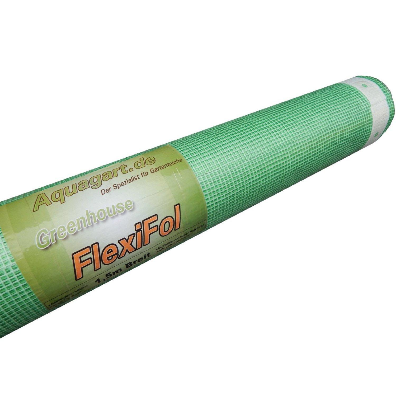 Gewächshausfolie Gitterfolie Frühbeetfolie Gartenfolie 250g grün verschiedene Breiten und Längen (20m, grün/transparent 3m breit)
