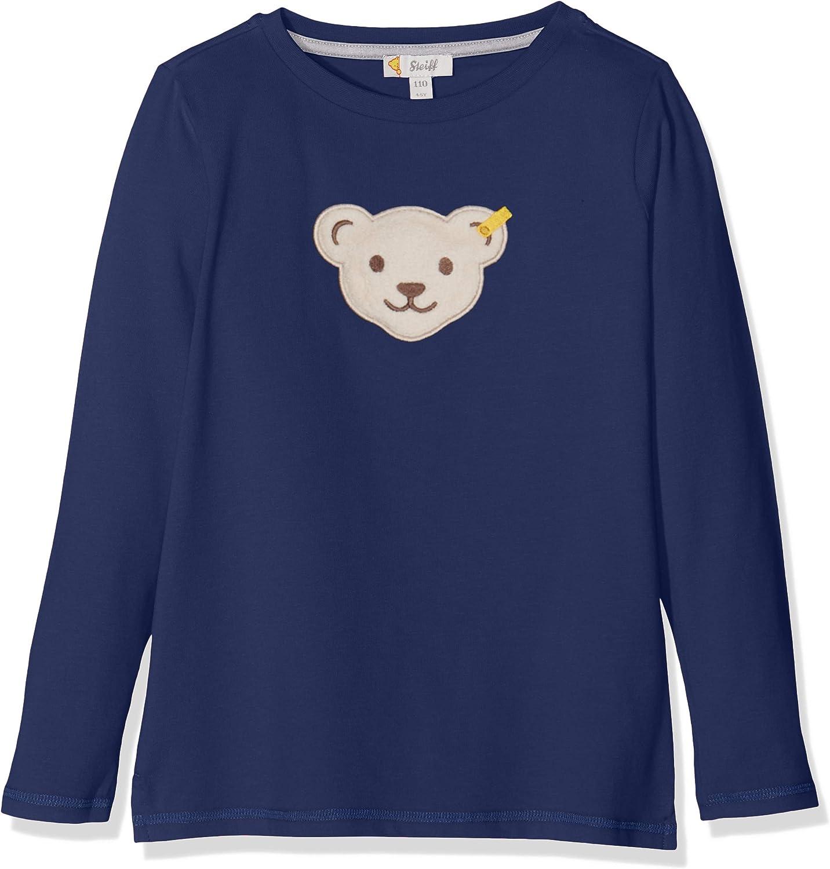 T-Shirt langarm mit gro/ßem Teddyb/ärmotiv