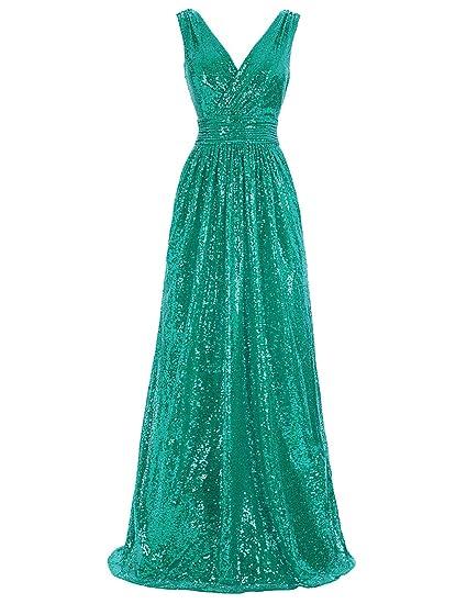 Kate Kasin Women Sequin Bridesmaid Dress