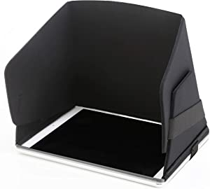 Mini Collapsible Molded iPad Mini Sun Shade and Privacy Hood Protective Case Sun Shield Sun Blocker Sun Protector Surf To Summit Made in USA