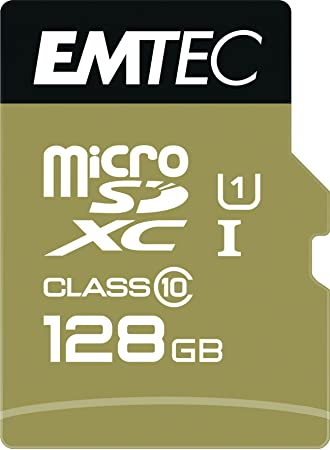 Emtec microSD Class10 Gold+ 128GB Memoria Flash MicroSDXC ...