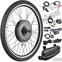 "AW 26""x1.75"" Rear Wheel Electric Bicycle LCD Display Motor Kit E-Bike Conversion 48V1000W"