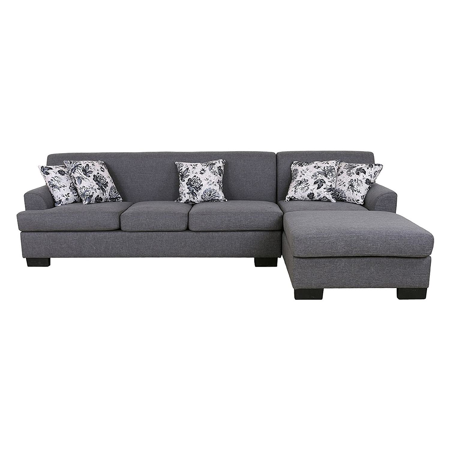 Amazon U S Pride Furniture 2 Piece Sectional Sofa with
