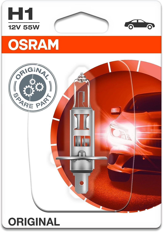 Faltschachtel Halogen-Scheinwerferlampe 12V PKW Osram ORIGINAL H1 1 St/ück 64150