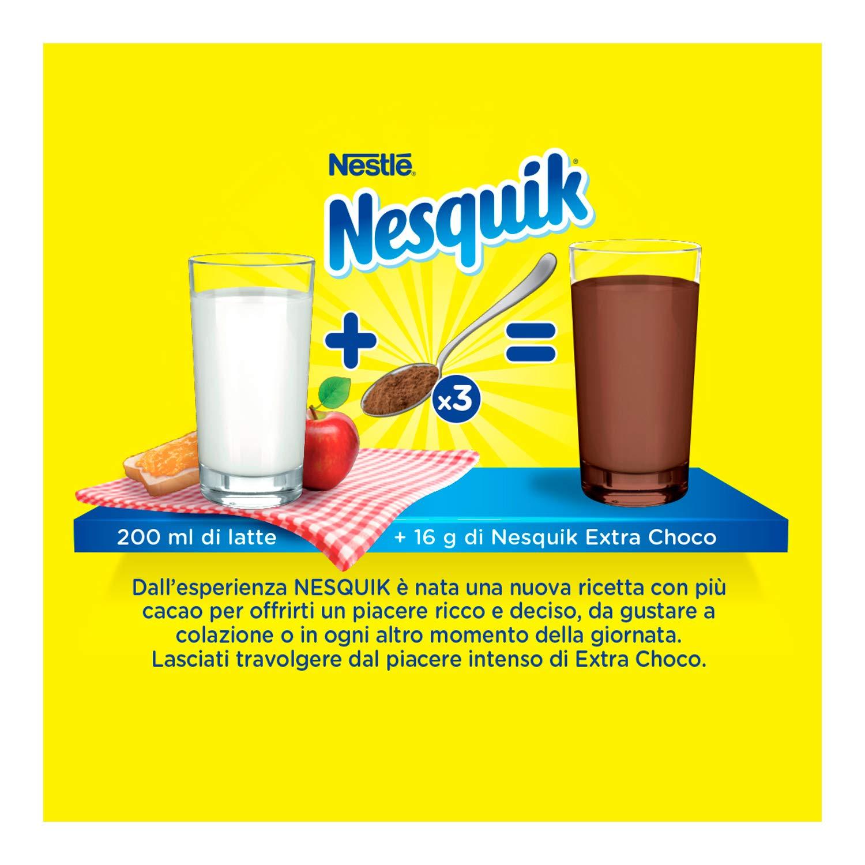 Nesquik extra Choco Cacao Soluble para leche Bote - 390 gr: Amazon.es: Alimentación y bebidas