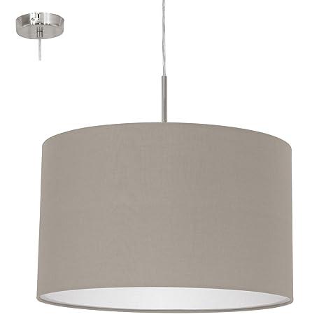 Eglo 31572 - Lámpara de techo, plata: Amazon.es: Iluminación