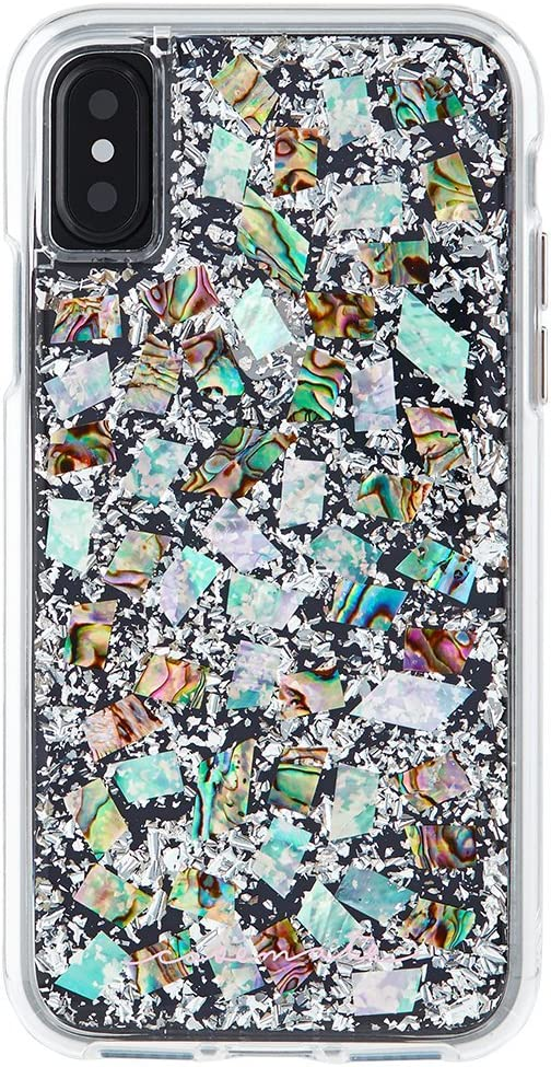 Case-Mate iPhone X Case - KARAT - Real Mother of Pearl - Slim Protective Design - Apple iPhone 10 - Mother of Pearl