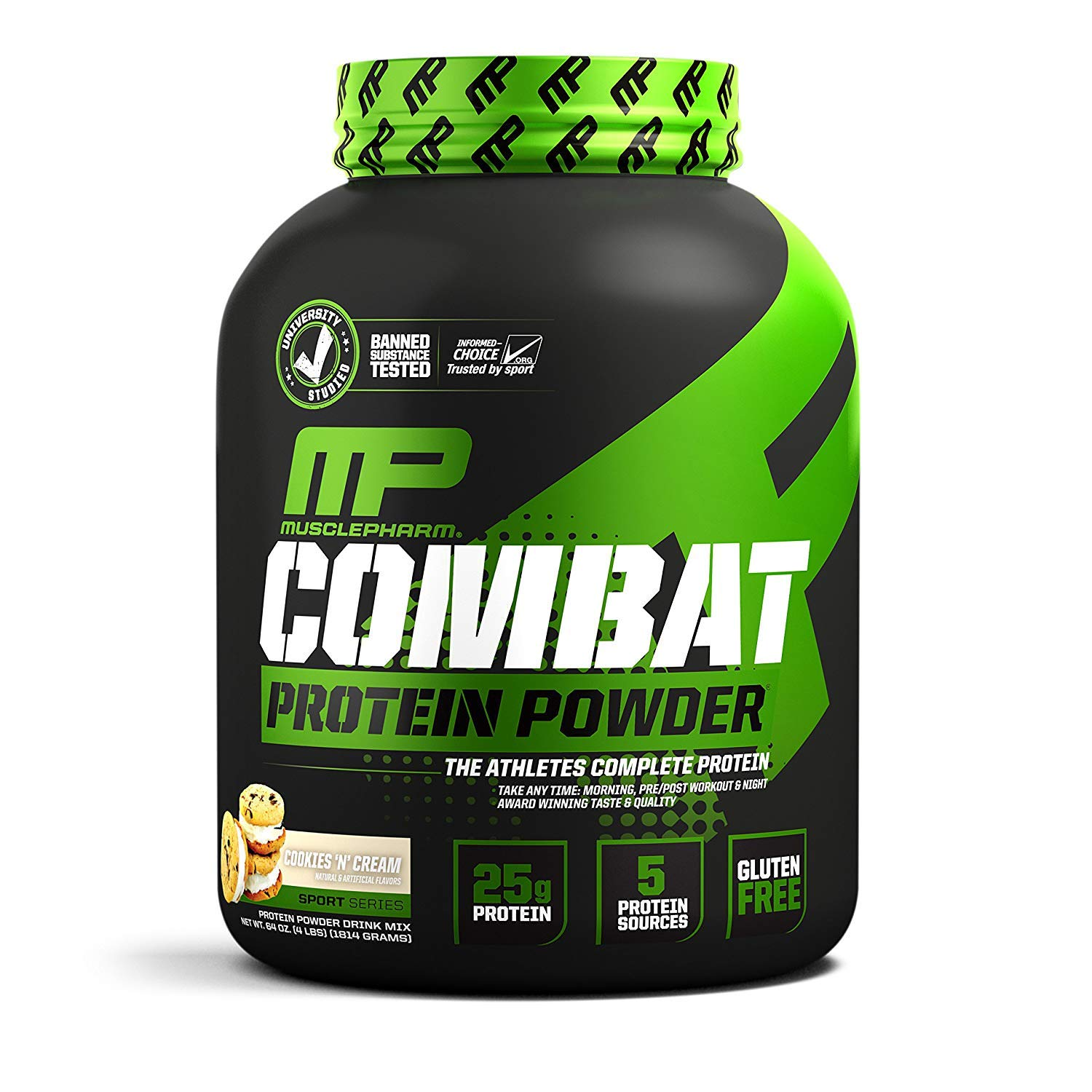 Combat ProteinPowder Cookies N Cream, 4 Pound