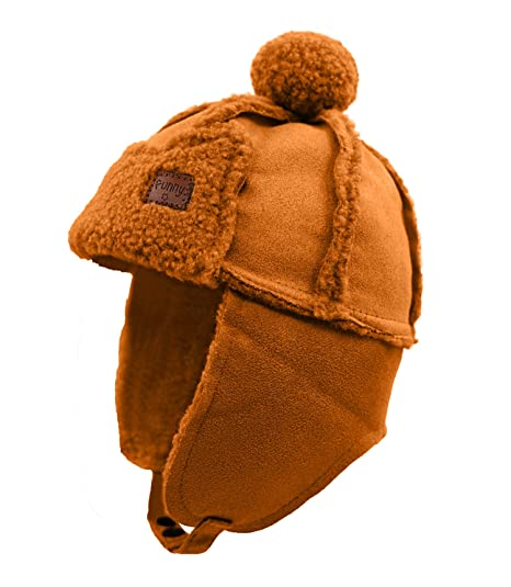 0e37fa99cf5abb Home Prefer Warm Cute Winter Hats for Girls Boys Skull Hat with Earflaps  Trapper Trooper Hat