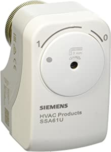 Siemens SSA61U 24V, 0-10V, NC, non-spring return VALVE ACT