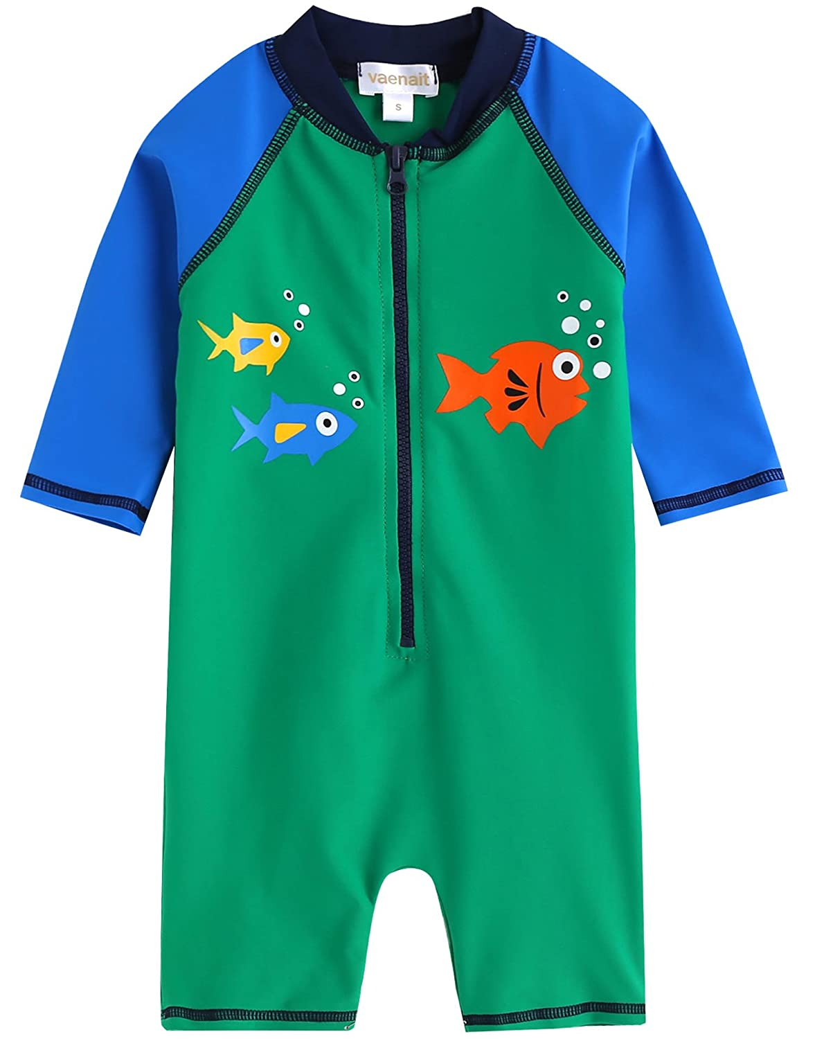 Vaenait baby 0-24M Infant Baby Boys Rashguard Swimsuits Sunsuits Rashguard Shirts FBA_BSW_035