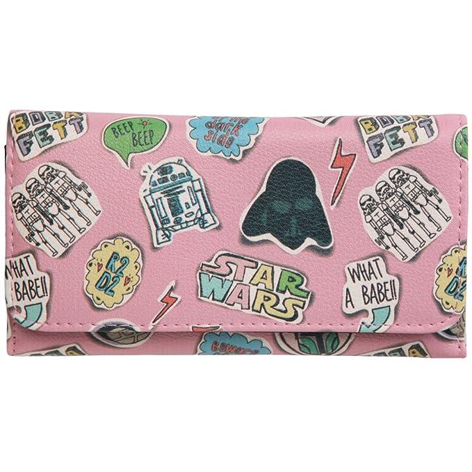 Wars Bären wars sketched pink trifold wallet at amazon s