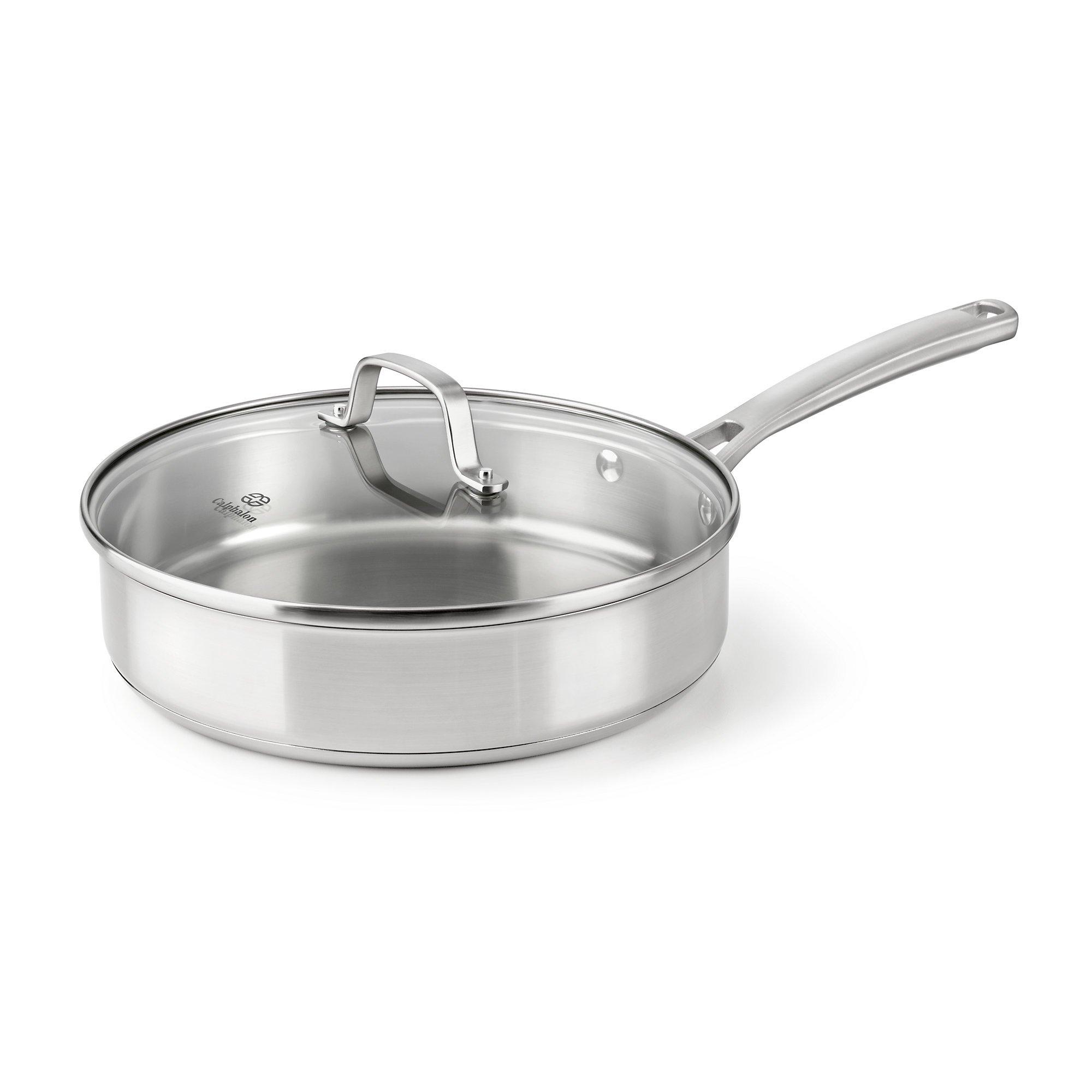 Calphalon Classic Stainless Steel Cookware, Saute Pan, 3-quart by Calphalon