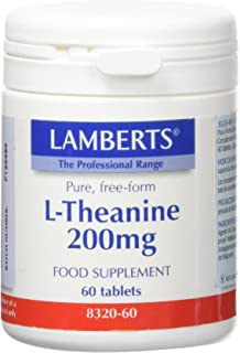 Lamberts L Theanine 200mg - 60 Tabletas