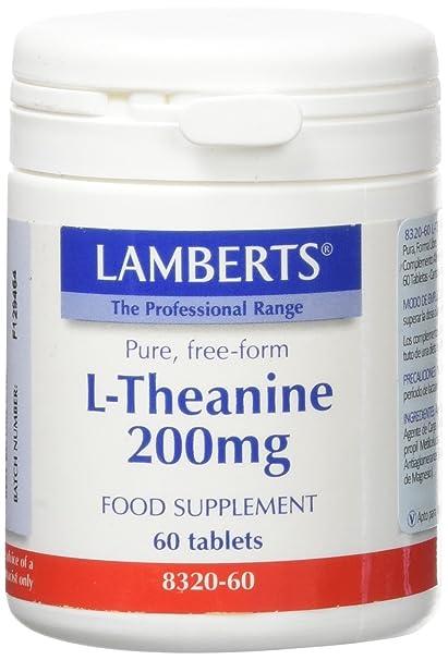 Lamberts L Theanine 200mg - 60 Tabletas