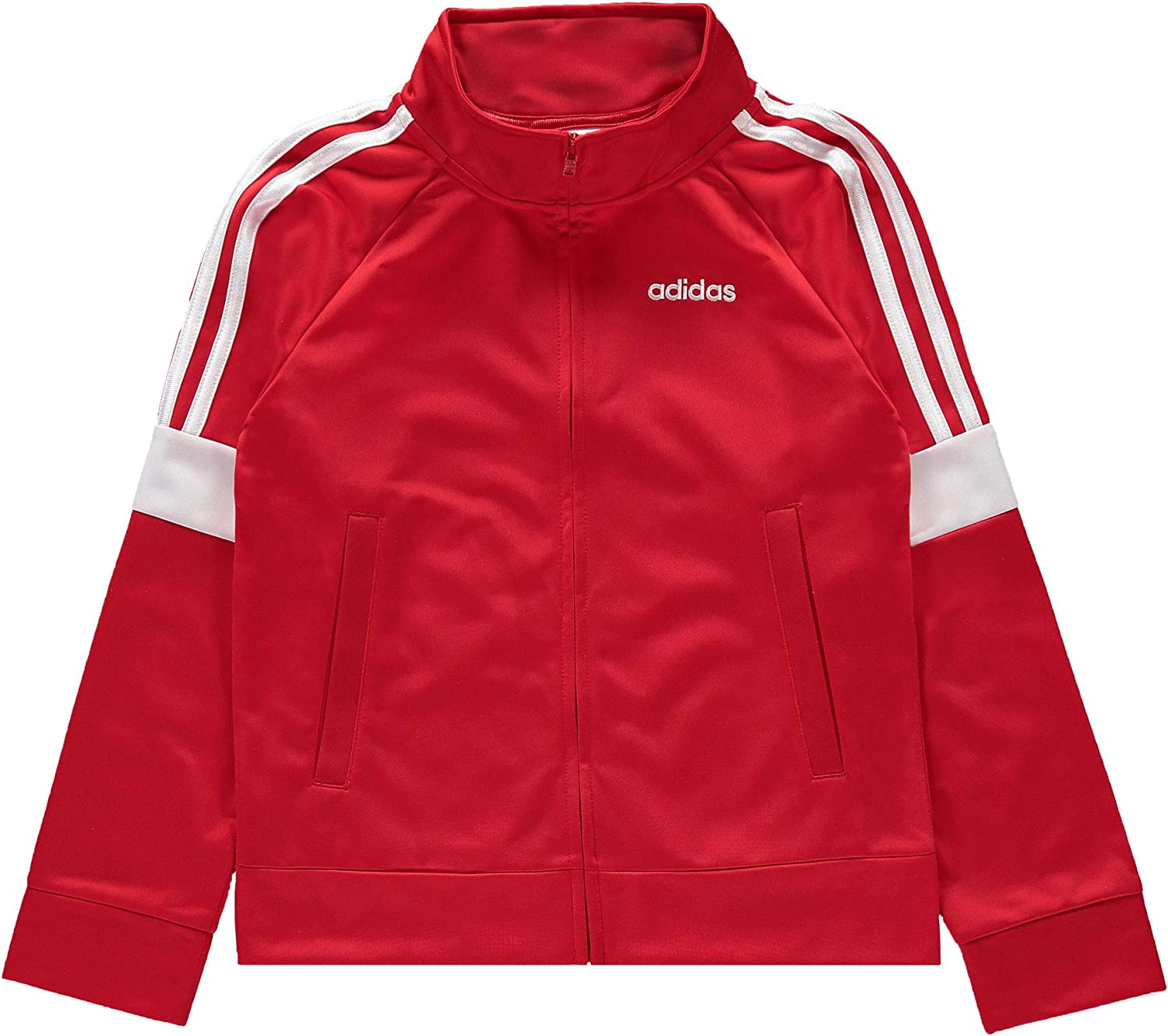10//12 Red Event, M adidas Boys Iconic Tricot Jacket