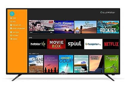 CloudWalker 139 Cm 4K Ready Smart Full HD LED TV Amazonin Electronics