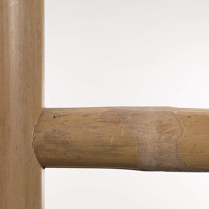 SKLUM Escalera Leit Dipeada Bambú Negro - (Elige Color): Amazon.es: Hogar