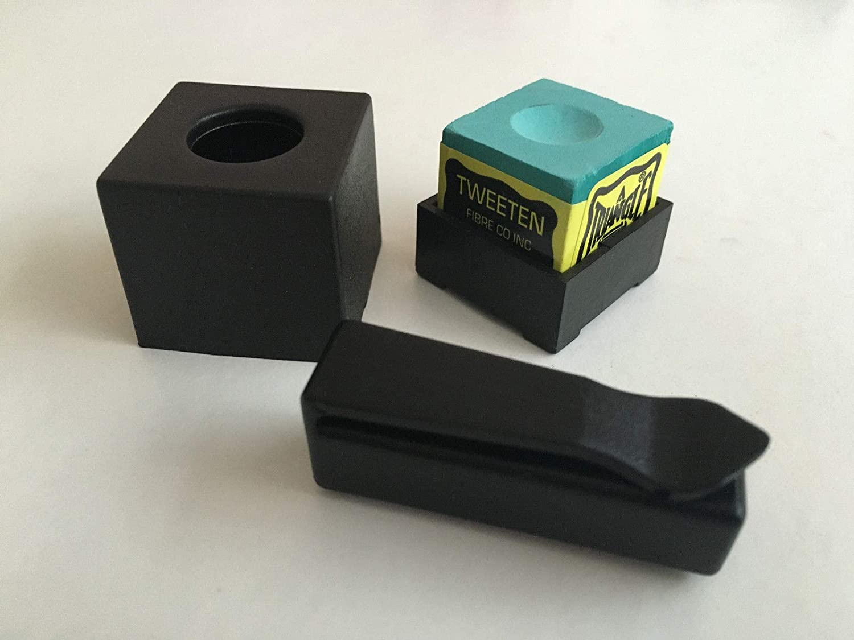 Plastic Magnetic Snooker or Pool Cue Chalk Holder