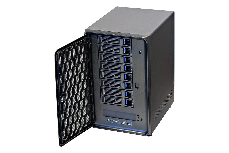 Norco Mini-ITX Form Computer Server Storage Case Support 8 x