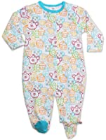 Zutano Baby Girls' Cups And Cakes Footie