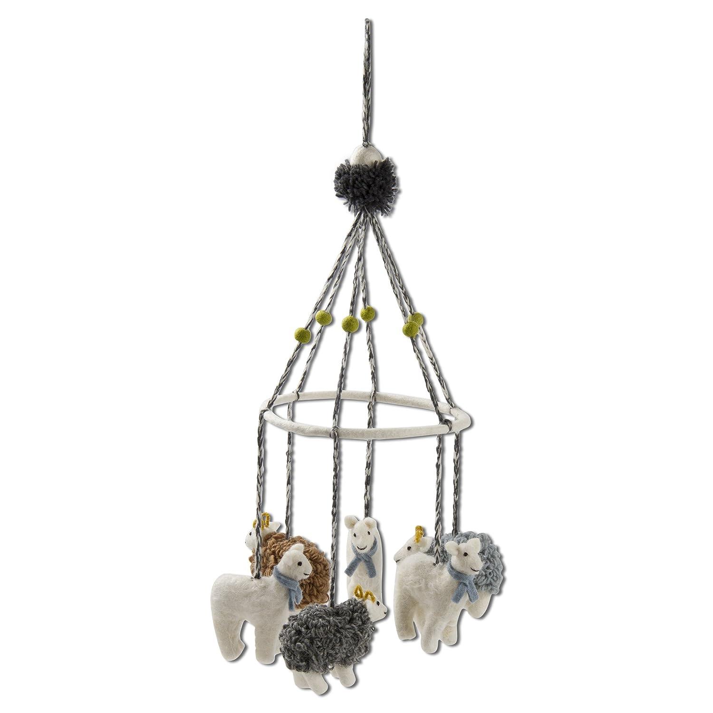 想像を超えての タグ for – 9 Wooly Lambモバイル、手作り吊り飾りIdeal for a子の部屋や子供部屋 Dia。)、マルチカラー(26