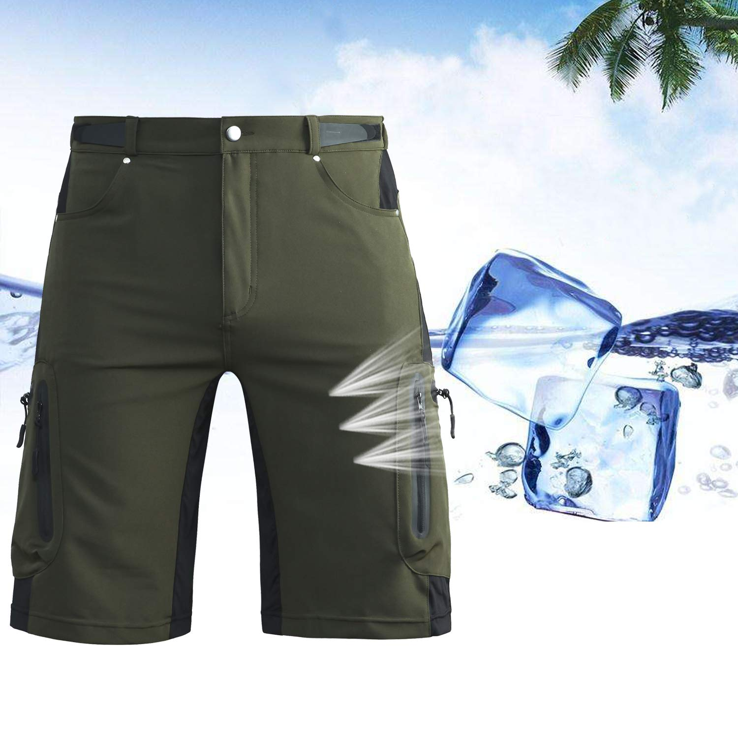 Ally Mountain Bike Shorts With Padding