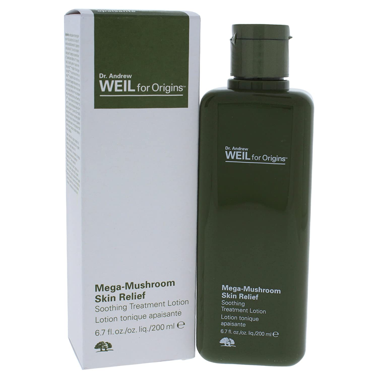 Origins Dr. Andrew Mega-Mushroom Skin Relief Soothing Treatment Lotion, 6.7 Ounce