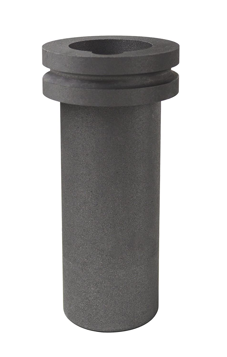 30 oz 1 Kg Electro-Melt Kerr Furnace Graphite Crucible w/Groove for Precious Metal Casting Refining Gold Melting PMC Supplies CRU-0025