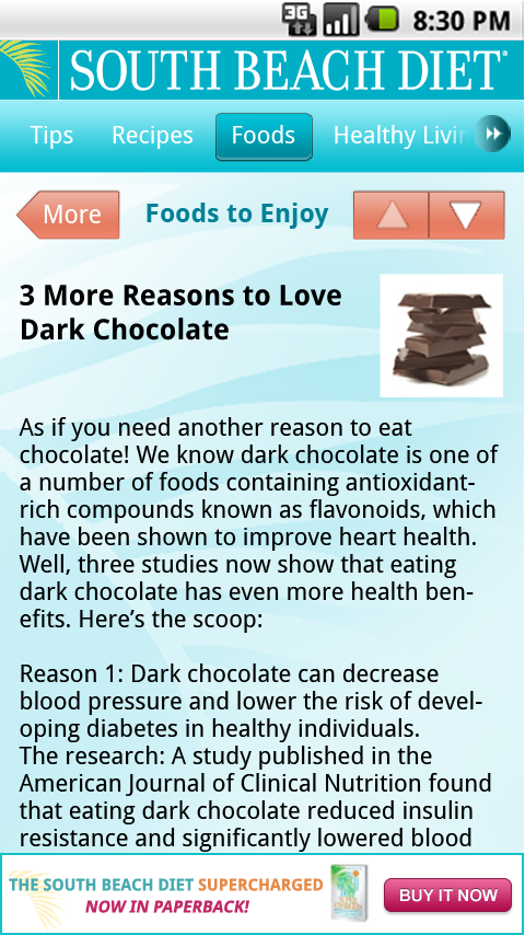 south beach diet app for android