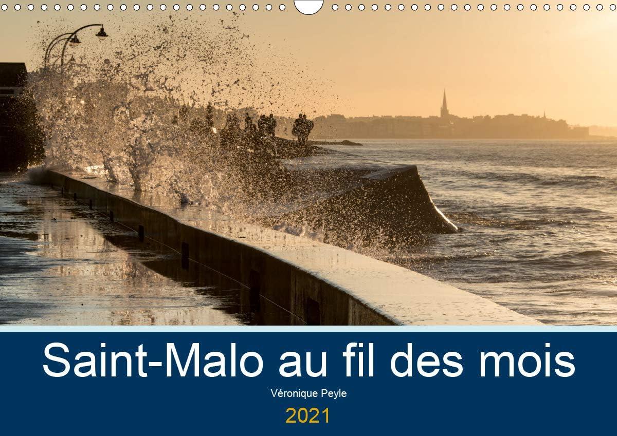 Amazon.: Saint Malo au fil des Mois (Calendrier Mural 2021 DIN