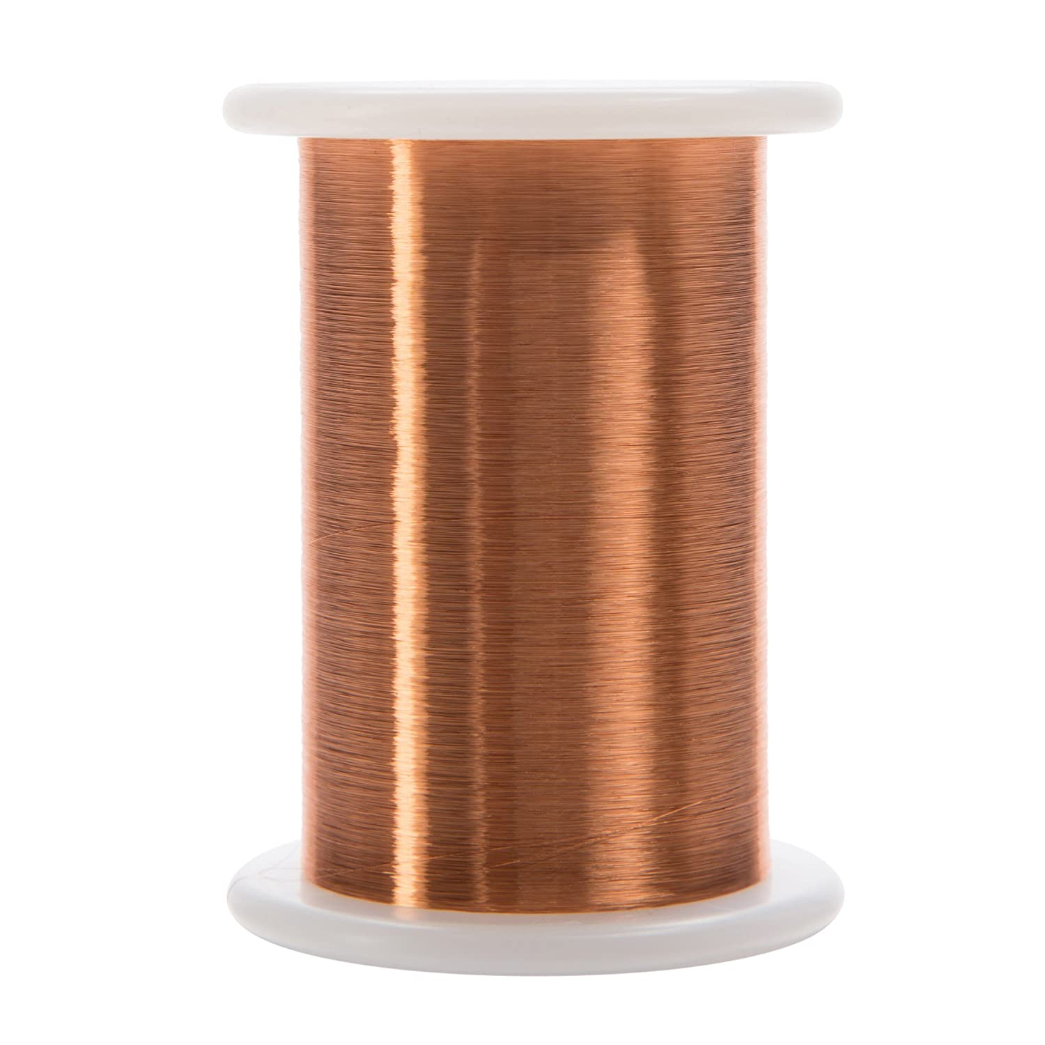Remington Industries 42HNSP.125 Magnet Wire Enameled Copper Wire Wound 2 oz 6200 Length Natural 6200/' Length 0.0029 Diameter Remington Industries-Wire 0.0029 Diameter 42 AWG Heavy Build