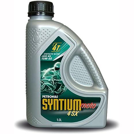 Petronas Syntium SX 4 15W50 4 1ltr aceite mezclador