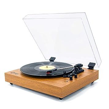 Amazon.com: Tocadiscos VMO de 3 velocidades.: Home Audio ...