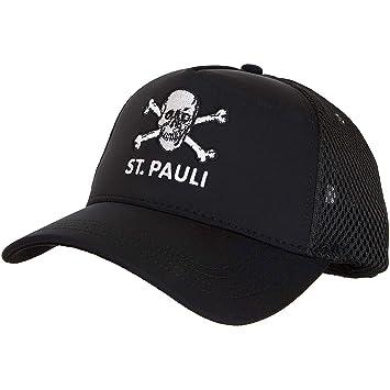 St Pauli Cap Totenkopf schwarz