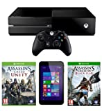Xbox One with Assassin's Creed: Unity and Linx 7-Inch Tablet