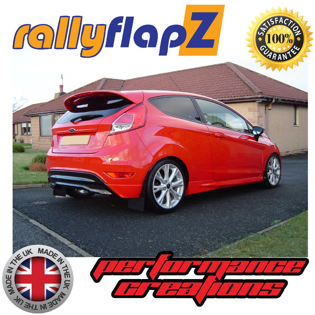 Genuine rallyflapZ Made in the UK Full Set of 4 Mudflaps Including