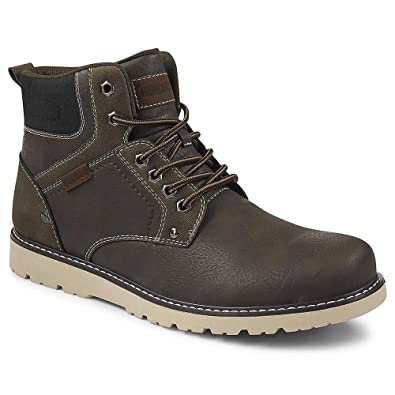 Men Shoes Hiking Boots Lace Up