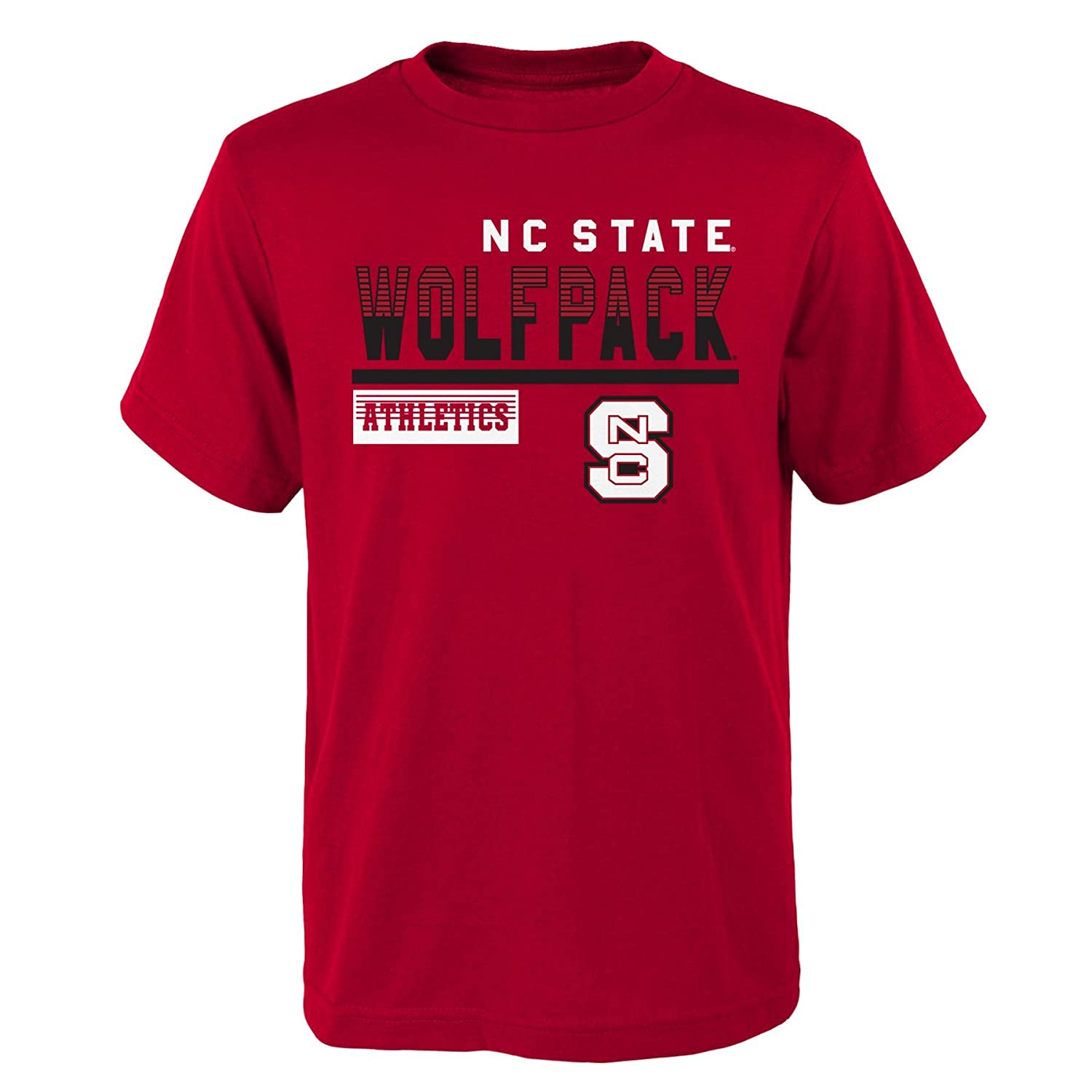 Youth Boys Small Outerstuff NCAA North Carolina State Wolfpack Kids /& Youth Boys Sonic Boom Basic Tee 8 Dark Red