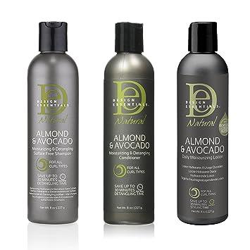 Amazoncom Design Essentials Hair Care Bundle With Almond