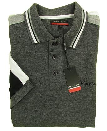 Pierre Cardin - Polo - Rayas - Polo - para hombre gris gris XXXX ...