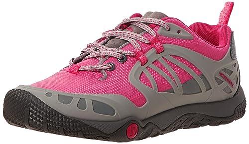 MerrellProterra Vim Sport - Botines de Senderismo Mujer, Color Rosa, Talla 42 EU B