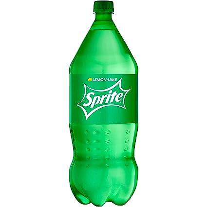 Amazon.com : Sprite Lemon Lime Soda Soft Drink, 2 Liter Bottle ...