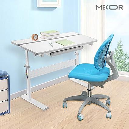 Amazon Com Mecor Kids Desk And Chair Set Children Wood Work Station