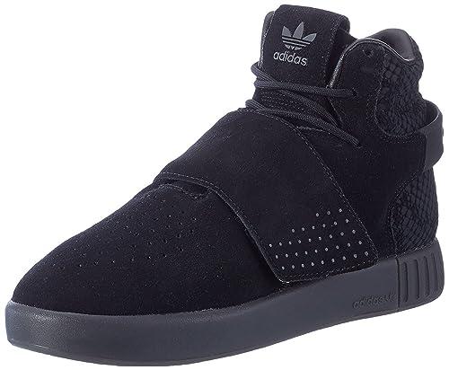 e00b7c918a8c adidas Originals Kids  Tubular Invader Strap J Sneaker  Amazon.co.uk ...