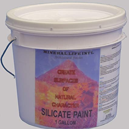 Mineral Life Int'l Silicate Paint, 1 Gallon, Exterior