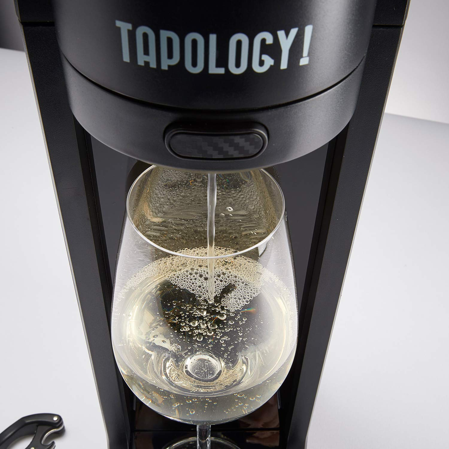 Tapology Connoisseur Wine Aerating Tap, Black by Tapology (Image #3)