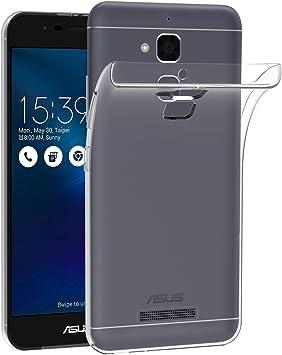 ivoler Funda Carcasa Gel Transparente para ASUS Zenfone 3 MAX ...